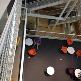 Inside USC's Annenberg School.