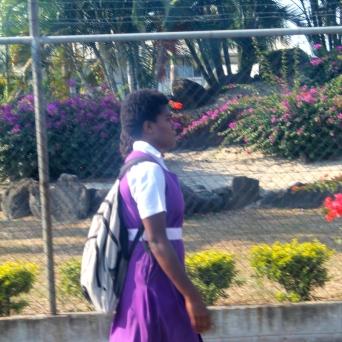 School kids wear uniforms.