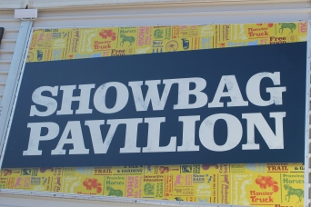 The Showbags -- something for everyone . . .