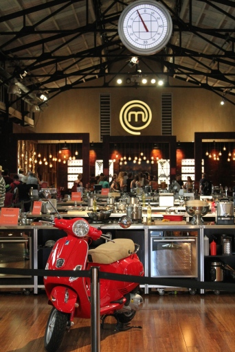 and this is the actual set of Master Chef!